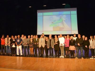 Salou reconoce el esfuerzo y méritos de unos 300 deportistas durante la octava edición de la Nit de l'Esport
