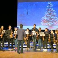 actuación de Navidad en el TAS