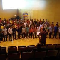 Concierto de canto coral con alumnos de la Eguesibarko Udalaren Musika Eskola
