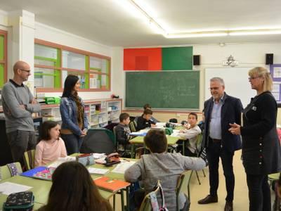 El alcalde Pere Granados visita varios centros educativos de Salou para dar la bienvenida al inicio del curso 2019-2020