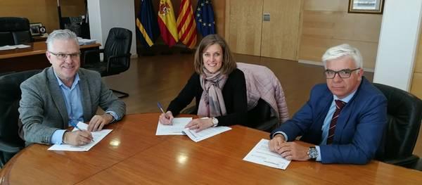 El Ayuntamiento y la Escola Elisabeth firman un protocolo de intenciones