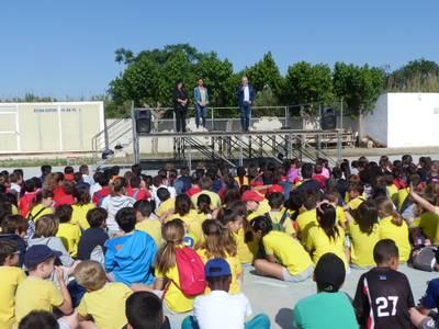 Las escuelas de Salou disfrutan de la 1ª Jornada Deportiva dentro del Plan Educativo de Entorno