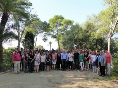 Salou da la bienvenida a los profesores en el nuevo curso escolar con una bienvenida desde el Parque y Mirador de la Cala Morisca