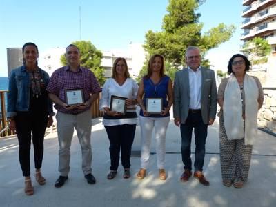 Salou da la bienvenida al nuevo curso escolar con una recepción al profesorado de todos los centros educativos en el Mirador de Capellans