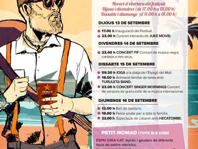 Este fin de semana la capital de la Costa Dorada acoge el Nomad Festival Salou