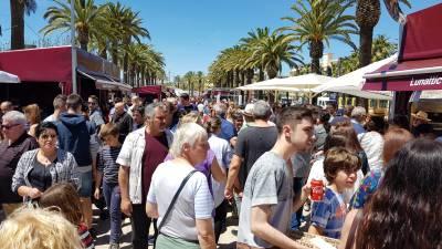 Más de 42.000 degustaciones, una treintena de expositores y numerosos talleres y actividades, el excelente balance de la 9ª edición de la feria gastronómica Sabor Salou