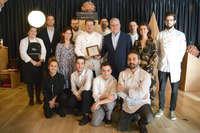 Salou reconoce al chef Pep Moreno y al Restaurante Deliranto por incluir el municipio dentro de la ruta de las estrellas Michelin