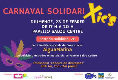 El Carnaval Xic'S llega a Salou con un carácter solidario a favor de la Associació AiguaMarina