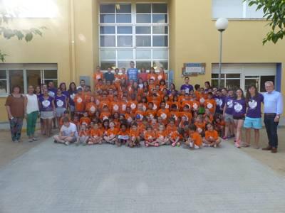 Un total de 120 niños y niñas disfrutan de las actividades en el Casal Xic'S en Salou este mes de julio