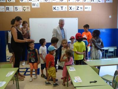 Unos 120 niños y niñas disfrutan del Casal Xic'S en Salou este mes de julio