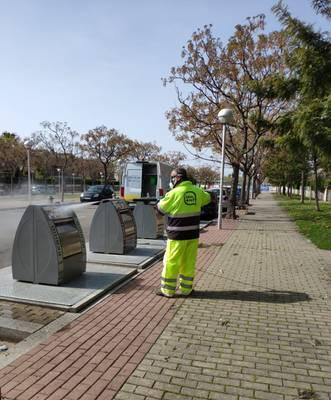 El Ayuntamiento de Salou incrementa el servicio de hidrolimpieza en la vía pública para garantizar la mejor calidad sanitaria