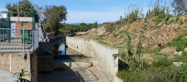 Comienza el desbroce y la eliminación de cañas del barranco de Barenys por su conservación y mantenimiento