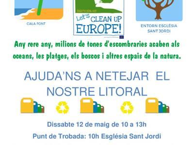 """Salou se suma a la iniciativa europea """"Let's Clean Up Europe!"""""""