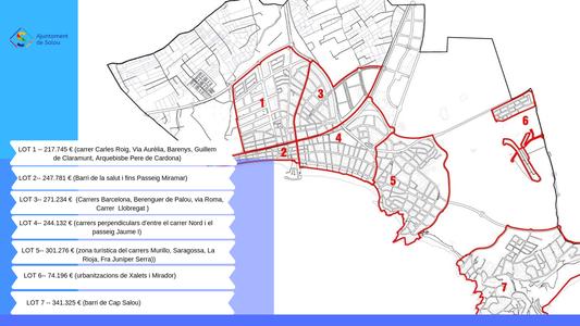 Salou inicia el plan de renovación y mejora de la ciudad en siete zonas del municipio a principios de marzo