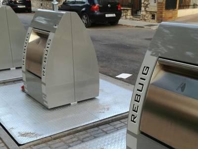 Salou inicia la sustitución de los contenedores soterrados para adaptarlos al nuevo sistema de recogida de basuras