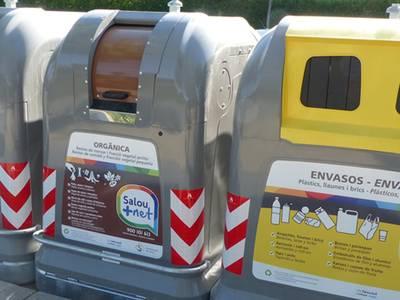 Salou mejora los índices de reciclaje tras el despliegue de la nueva concesión en el municipio