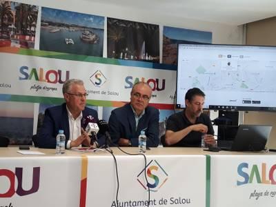 Salou presenta 'Cuida Salou' la aplicación móvil para que los ciudadanos puedan informar de las incidencias de la vía pública
