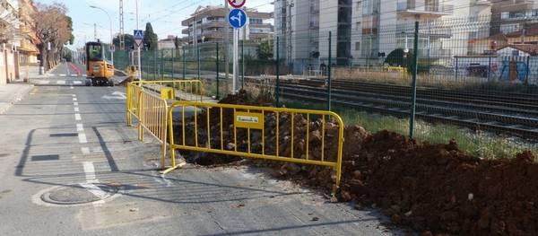 Se inician las obras de construcción de una red de pluviales en la calle Carles Roig