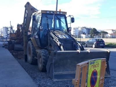 Se inician los trabajos de mejora del asfalto en la calle Barenys de Salou