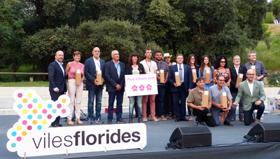 Salou mantiene las tres Flors d'Honor en el movimiento Viles Florides 2019