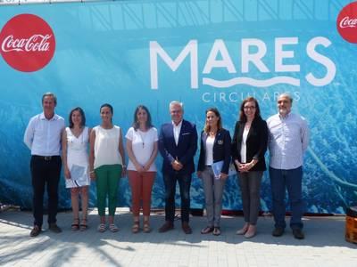Coca-Cola ha presentado hoy en Salou, Mares Circulares, su proyecto de limpieza de costas y fondos marinos más ambicioso hasta el día de hoy