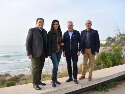 El Ayuntamiento de Salou realiza un estudio de la regresión de las playas para planificar actuaciones de mantenimiento y protección