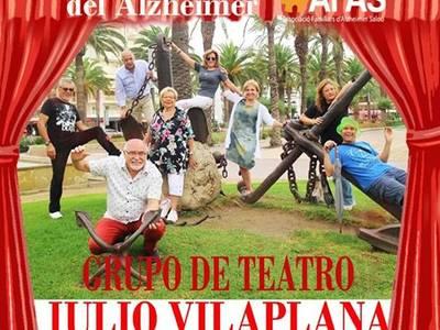 El Grupo de Teatro Julio Vilaplana estrena mañana sábado la obra solidaria 'Risas y recuerdos', a favor de la Associació de Familiars d'Alzheimer de Salou (AFAS)