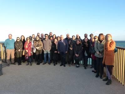 GALERÍA DE FOTOGRAFÍAS: Visita al Camí de Ronda con miembros de la comunidad de turismo sostenible Interreg MED