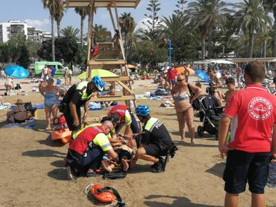 La capital de la costa Dorada finaliza la temporada de playas sin incidentes