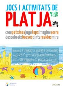 """Salou impulsa la iniciativa de educación medioambiental """"Juegos y Actividades de Playa"""" para los más pequeños de la casa"""