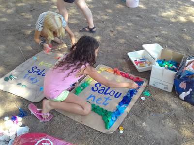 Salou impulsa un taller de sensibilización para toda la familia dentro de la Campaña Mantén Salou Net