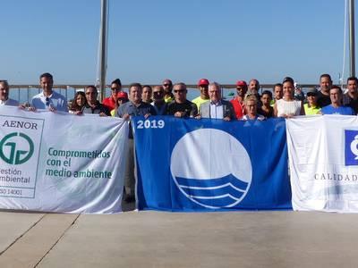 Salou revalida las certificaciones de calidad en sus playas