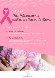 Salou se 'suma al rosa', mañana viernes, por el Día Internacional contra el Cáncer de Mama