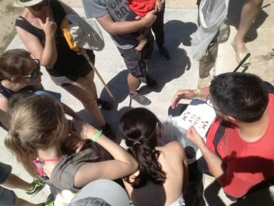 Un centenar de personas participan en Salou en la Semana de la Naturaleza con un Bioblitz en la Platja Llarga