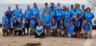 Un gran granito de arena para la conservación del litoral salouense gracias a unos cuarenta voluntarios y Decathlon