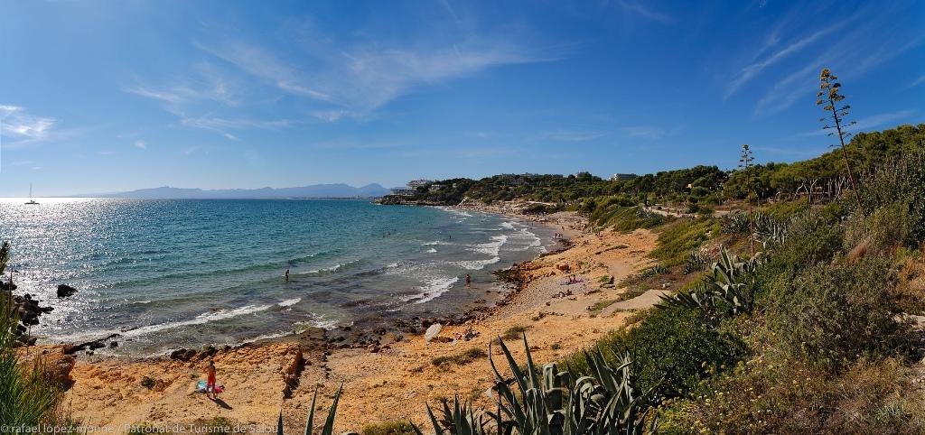 Las playas, un paraje natural