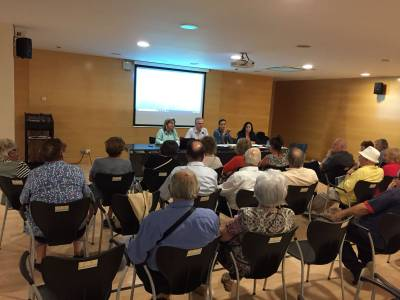 El alcalde trata los proyectos de más actualidad de Salou en el Consejo de las Personas Mayores y el Consejo Económico y Empresarial del municipio