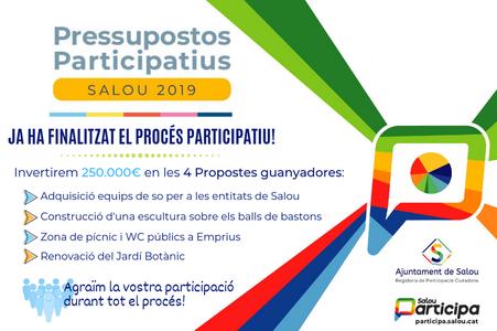 Ya se conocen las 4 propuestas finalistas de los presupuestos participativos de Salou