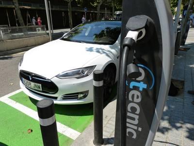 Aumenta el uso de los puntos de recarga de coches eléctricos en Salou