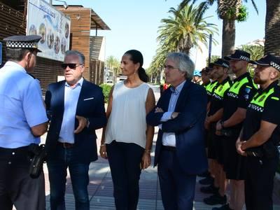 El alcalde de Salou, Pere Granados, anuncia que la zona de Carles Buïgas tendrá una nueva comisaría de Policía Local