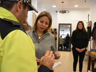 El Ayuntamiento de Salou refuerza la seguridad en las zonas comerciales durante la campaña de Navidad