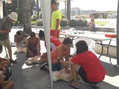 El Ayuntamiento organiza 4 talleres sobre Salvamento y Socorrismo