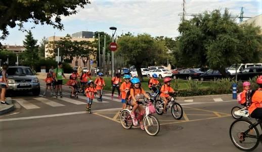 Salou conciencia a los más pequeños durante la Semana Europea de la Movilidad