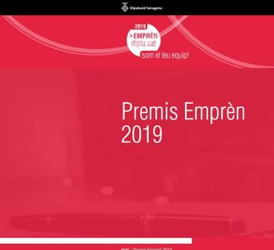 Abierta la convocatoria de los Premios Emprèn Dipta 2019