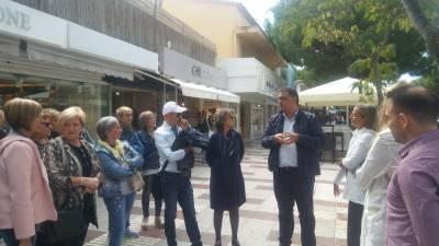 Comerciantes de Salou visitan Platja d'Aro en un Retail Tour organizado por la concejalía de Promoción Económica y Comercio