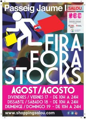 Este fin de semana vuelve la feria Fora Stocks al paseo Jaume I