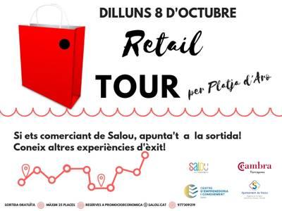 La concejalía de Promoción Económica y Comercio de Salou organiza un retail tour para conocer la realidad comercial de Platja d'Aro