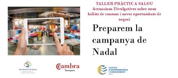 """Salou inicia un taller dirigido al comercio local, """"Preparemos la campaña de Navidad"""""""