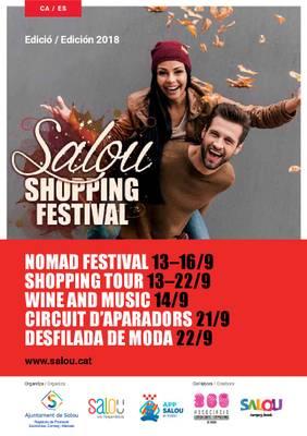 Sigue el Salou Shopping Festival con la batucada shopping con Bandarra Street Orkestra