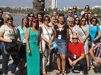 Agents de viatges polonesos visiten Salou